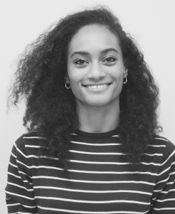 Korane: Comorian origins, French born but London raised. Serendipity is my favourite word and this team's stories are the perfect example! (Project Manager)